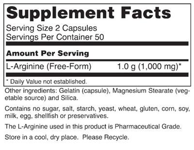 L-Arginine - Dietary Supplement - Advantages Pharmacy